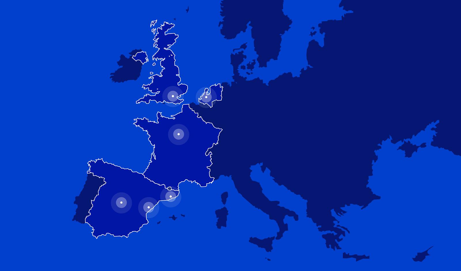 Foto de Actualmente Ontruck está presente en cuatro países