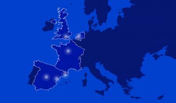 Actualmente Ontruck está presente en cuatro países europeos: España (donde presta servicios en las áreas de Madrid, Barcelona y