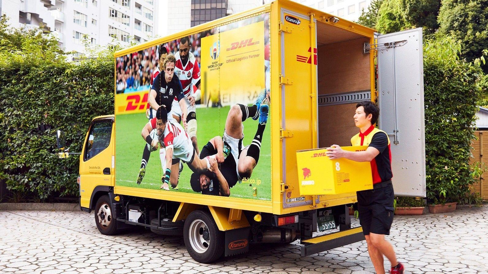 Foto de DHL entrega la Copa Mundial de Fútbol en Japón