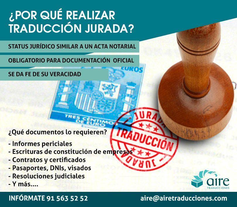 Foto de Traducción jurada