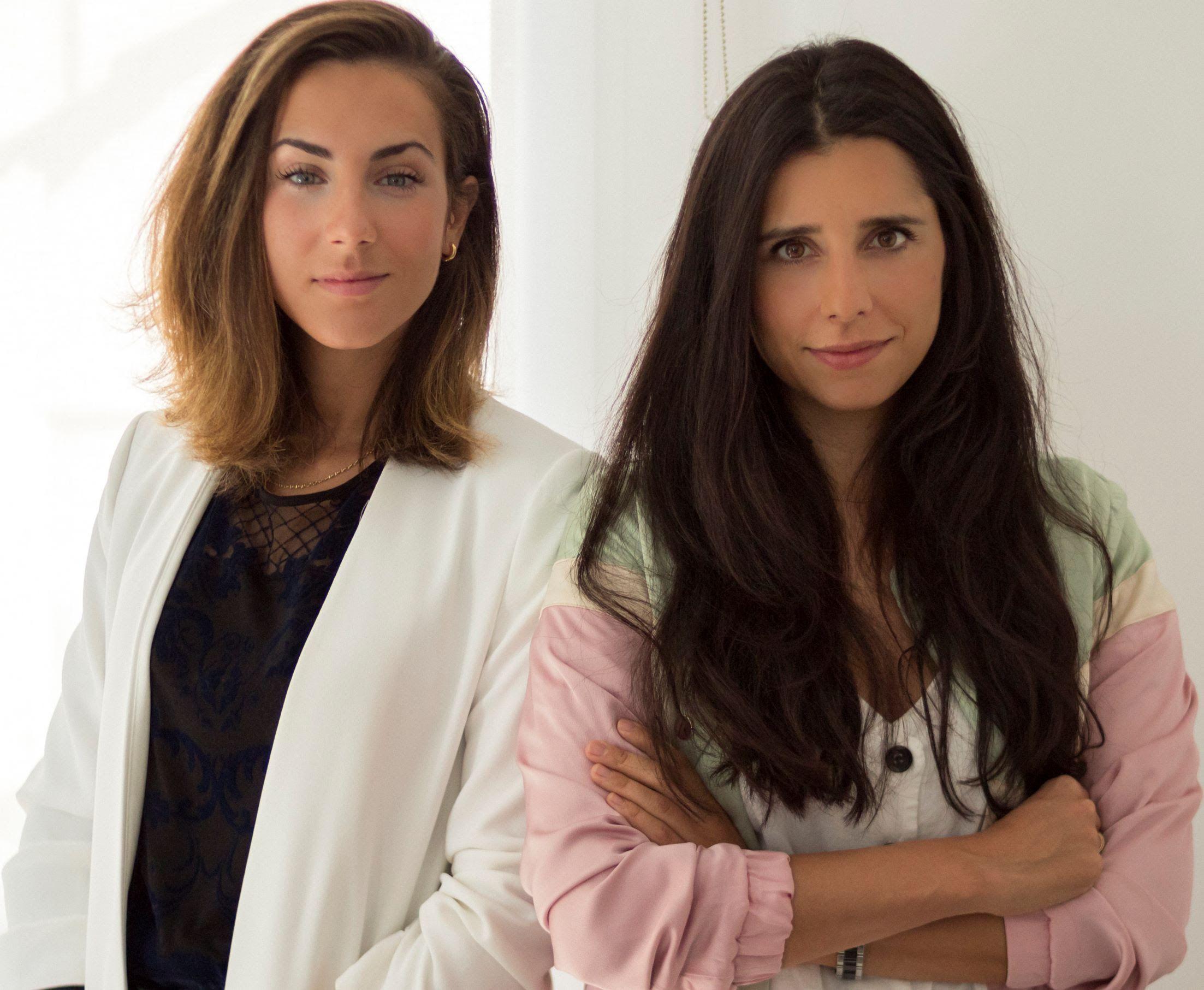 Foto de Nuria Nogales (izda.) y Beatriz Magro, fundadoras de Komvida