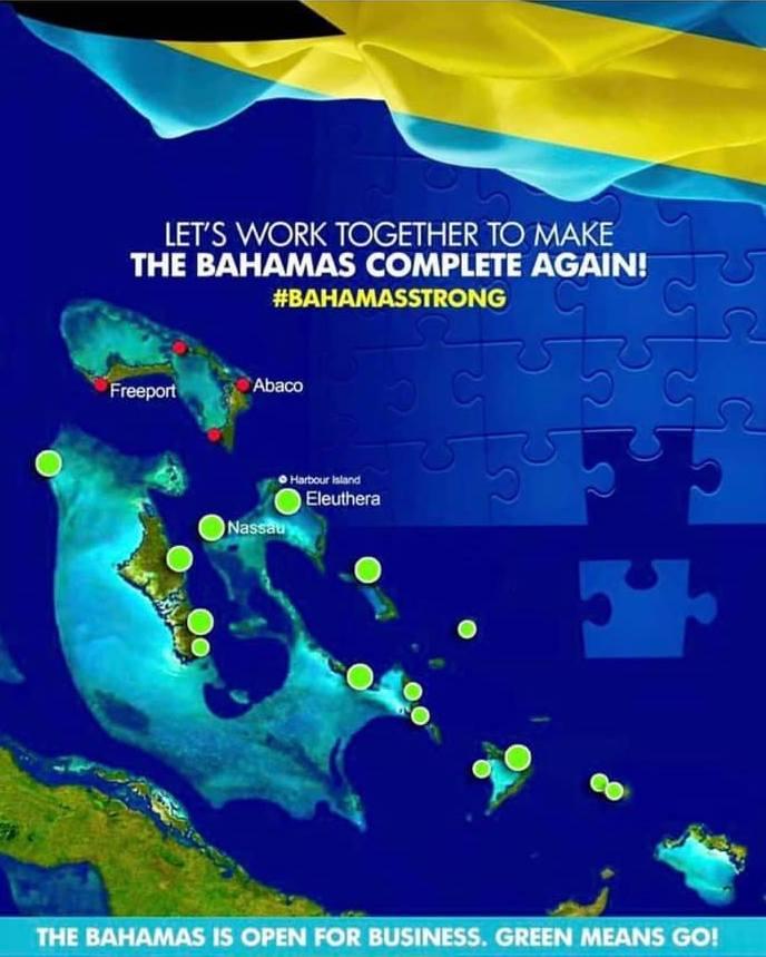 La Oficina de Turismo de Bahamas espera que la afluencia de turistas se mantenga