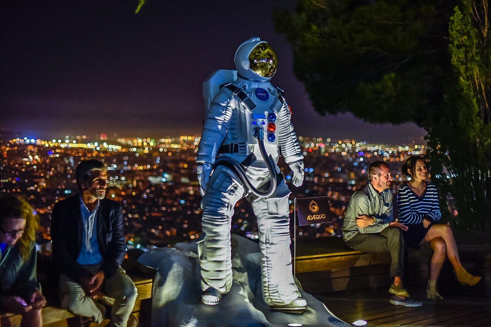 Fotografia Gran astronauta que ha presidido la ciudad de Barcelona