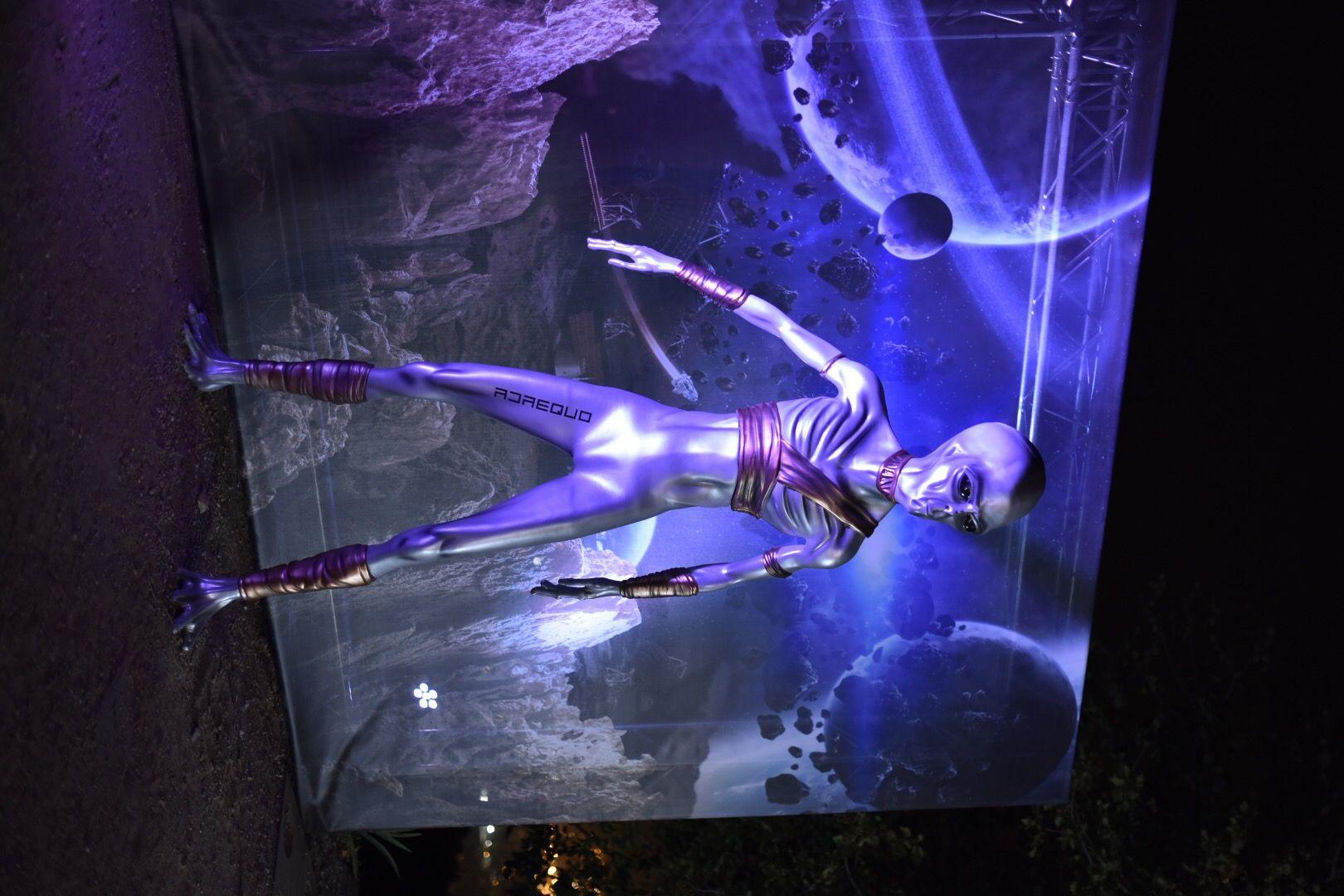 Fotografia Alienígena creado con impresión 3D por Adaequo que