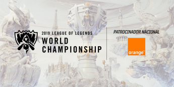 Orange, patrocinador español de los Worlds de LOL