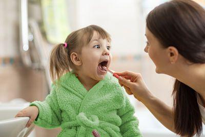 Foto de Cerca del 60% de los niños no se lavan los dientes después