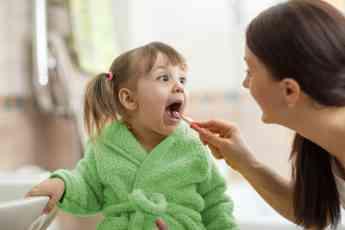 Cerca del 60% de los niños no se lavan los dientes después de cada comida