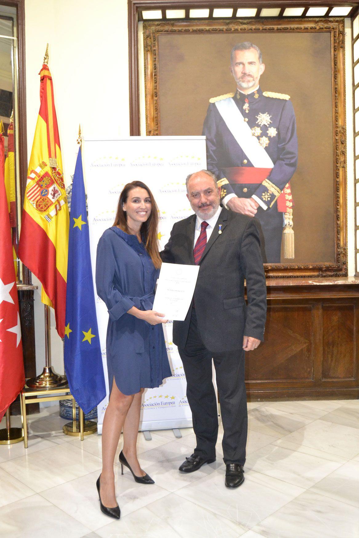 Fotografia CRISTINA BELTRÁN ARQUITECTOS RECIBE EL PREMIO EUROPEO A