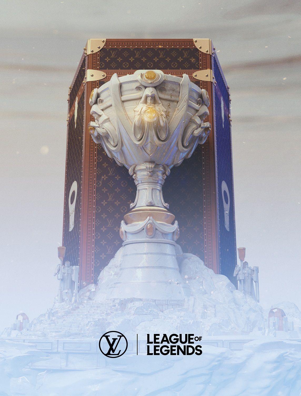 Foto de Baúl para la Copa del Invocador de Louis Vuitton