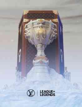 Baúl para la Copa del Invocador de Louis Vuitton