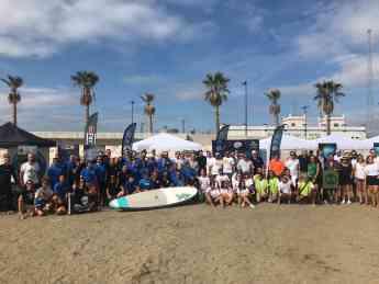 'Unidos por el mar' reúne a más de 500 participantes