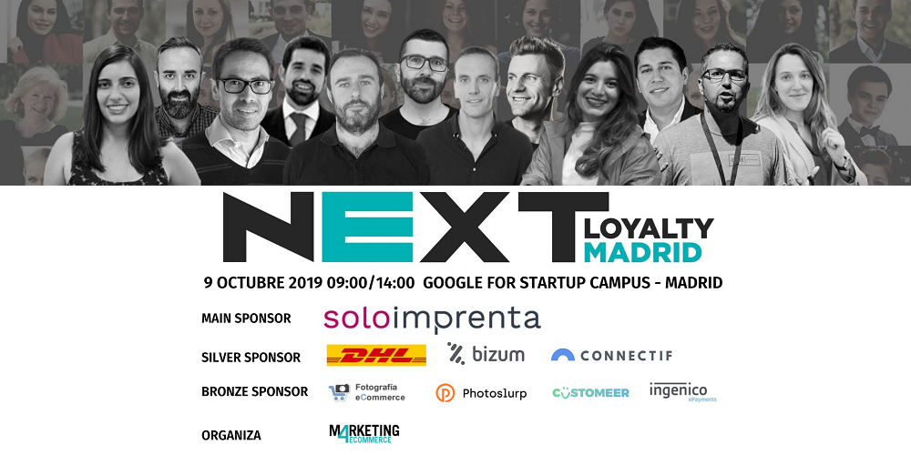 Soloimprenta se convierte en main sponsor de Next Loyalty 2019