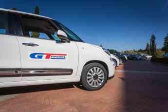 GT Radial FE1 durante el evento de lanzamiento en Tuscany 2015.