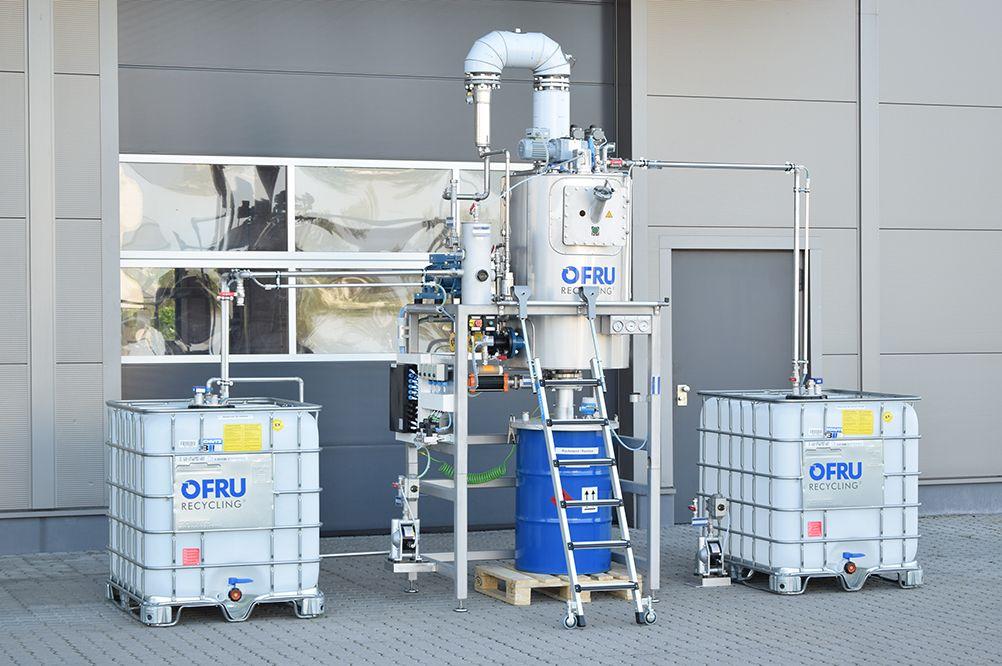 Foto de Sistema de recuperación de disolventes ASC-150 para