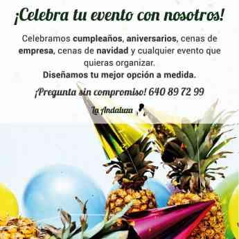 Celebrar un evento a medida en La Andaluza de Gonzalo Bilbao, en Sevilla