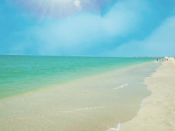 Las paradisíacas playas de la región de Campeche en México