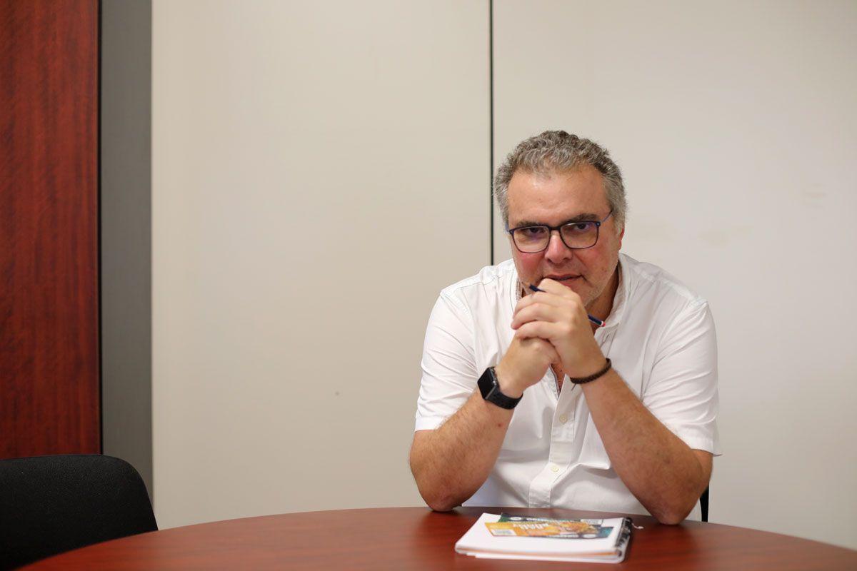 Foto de Javier Rodríguez, socio fundador de TomaTicket.es
