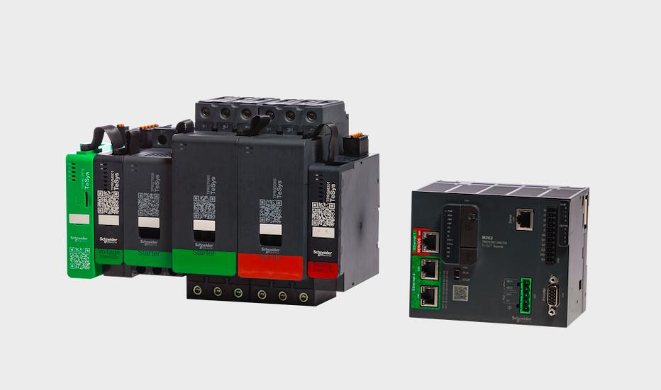 Schneider Electric lanza el nuevo controlador IIoT Modicon M262 y el sistema digital TeSys island
