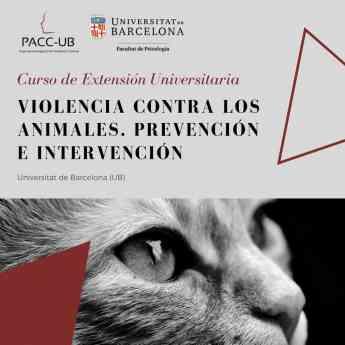 I Curso Universitario sobre Violencia hacia los animales: prevención e intervención.