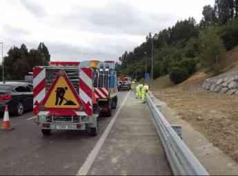 Itsak imparte a Tecuni un curso de Señalización de Obras en Carreteras