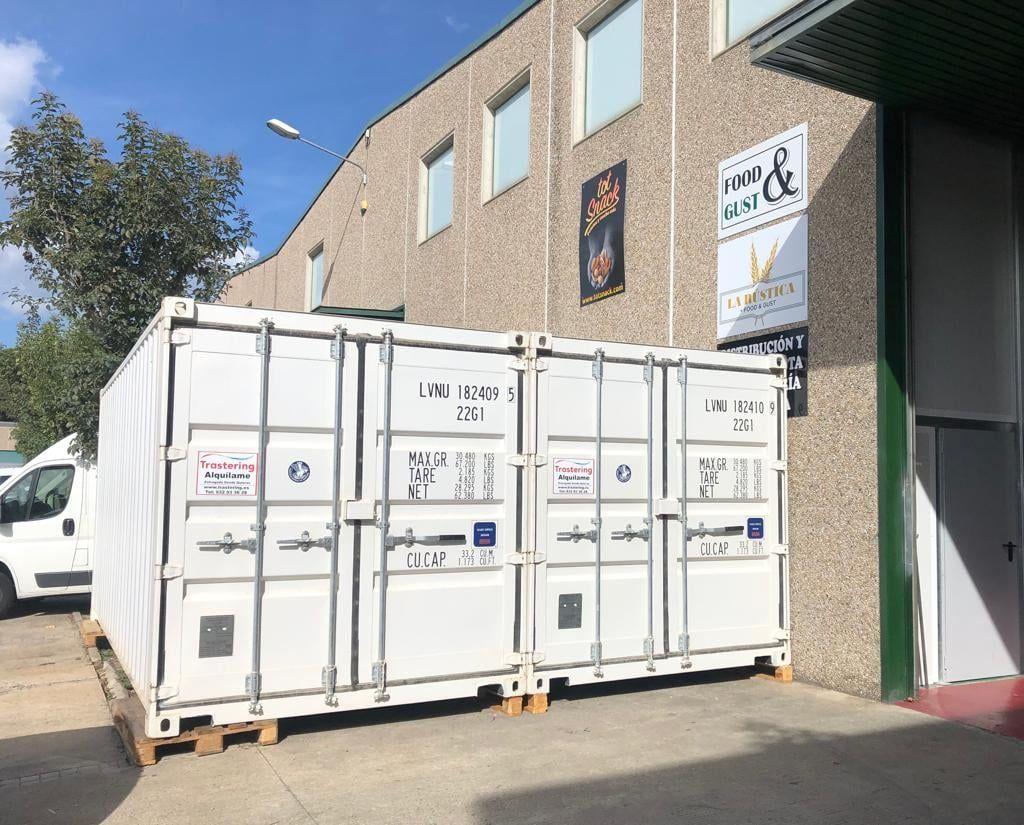 Foto de Alquiler de contenedores marítimos a domicilio