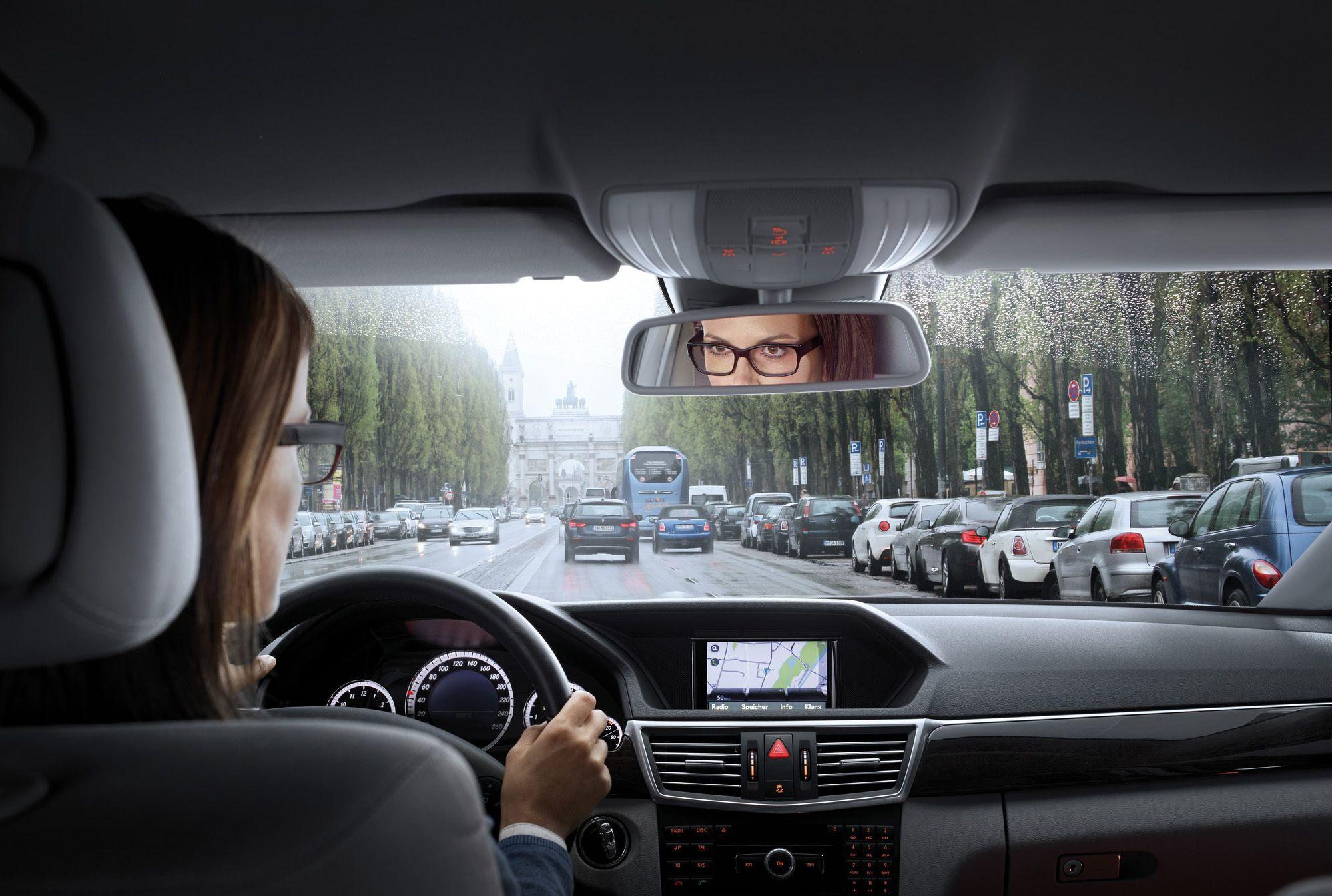 Fotografia Vision y conducción