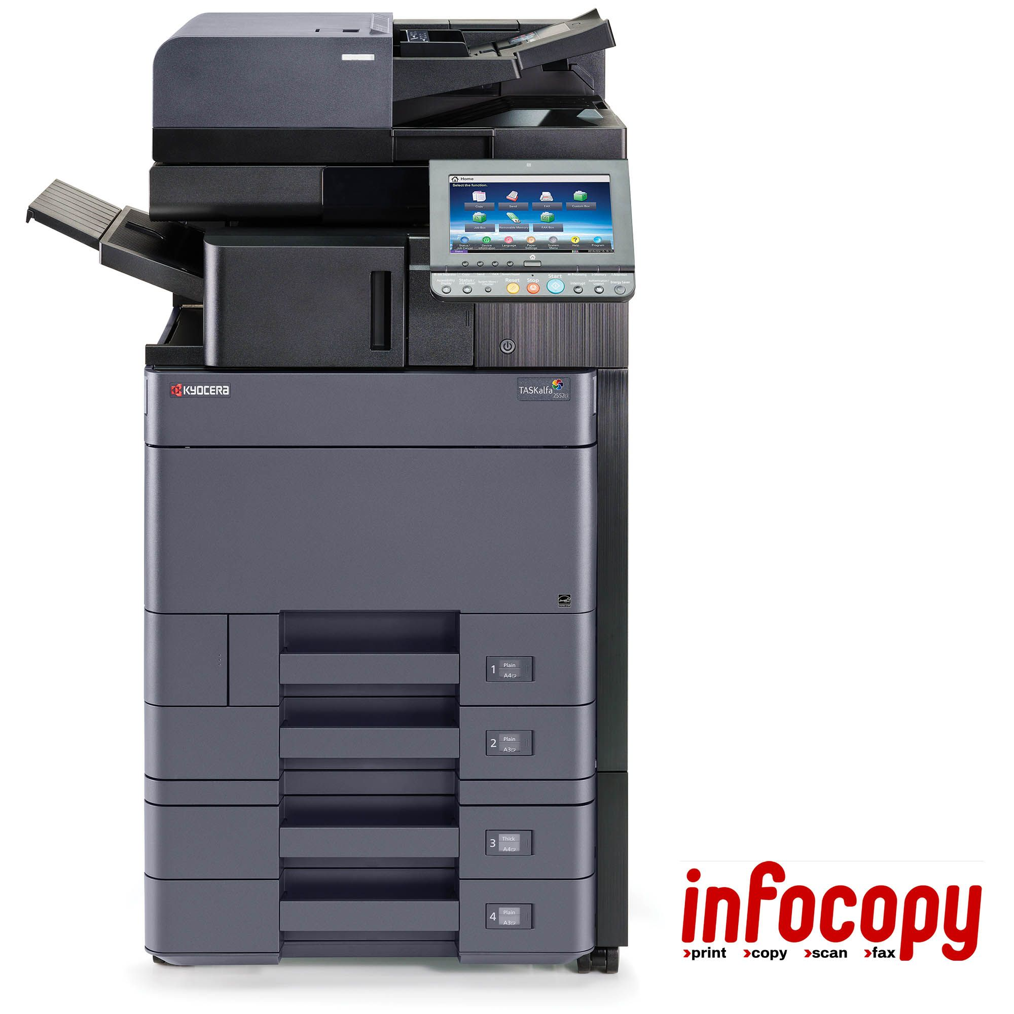 Infocopy ofrece soluciones top ventas en el mercado de MFP A3 Color