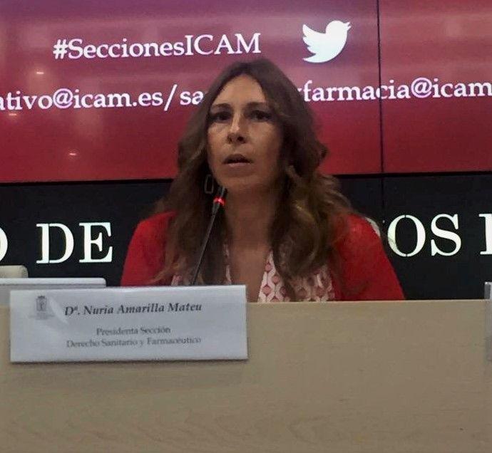 Foto de Nuria Amarilla, copresidenta de Sección de Derecho Sanitario