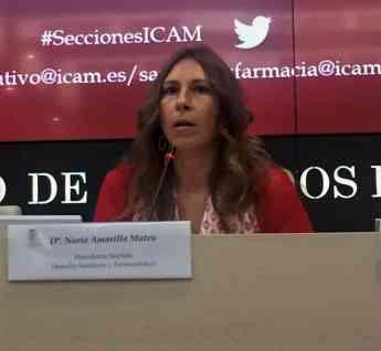 Nuria Amarilla, copresidenta de Sección de Derecho Sanitario y