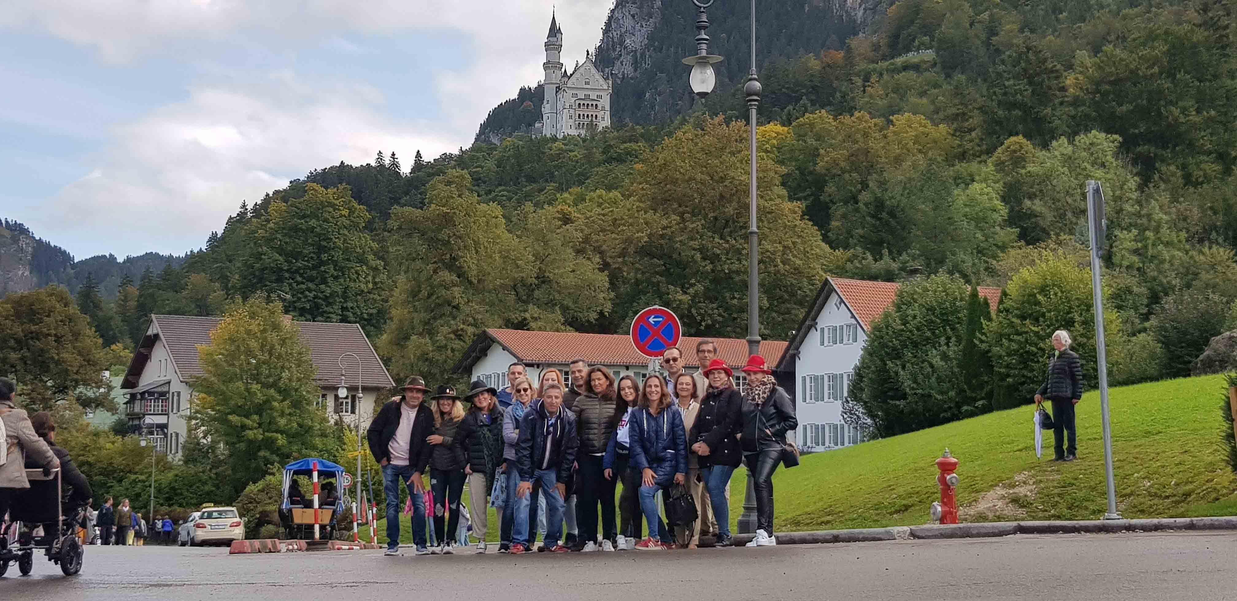 La 'familia Cione' disfruta de una experiencia inolvidable en el Oktoberfest