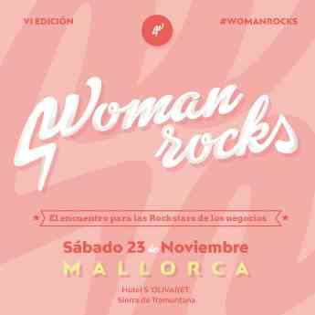 Foto de Cartel Sexta Edición Woman Rocks Mallorca