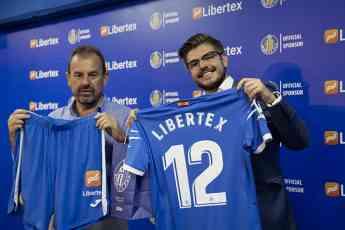 Foto de Libertex, nuevo patrocinador del Getafe CF
