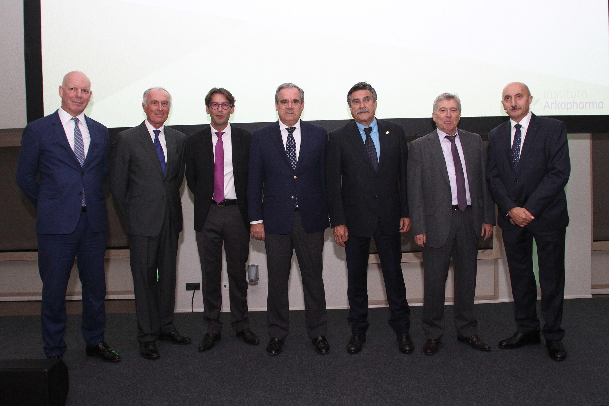 Foto de Presentación Instituto Arkopharma