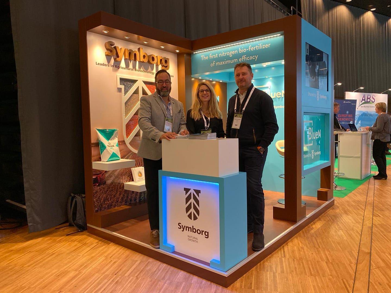 Foto de Stand de Symborg en el Euroseed Congress de Estocolmo