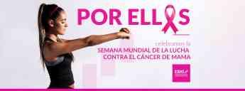 El European Sport & Health Institute, contra el cáncer de mama.