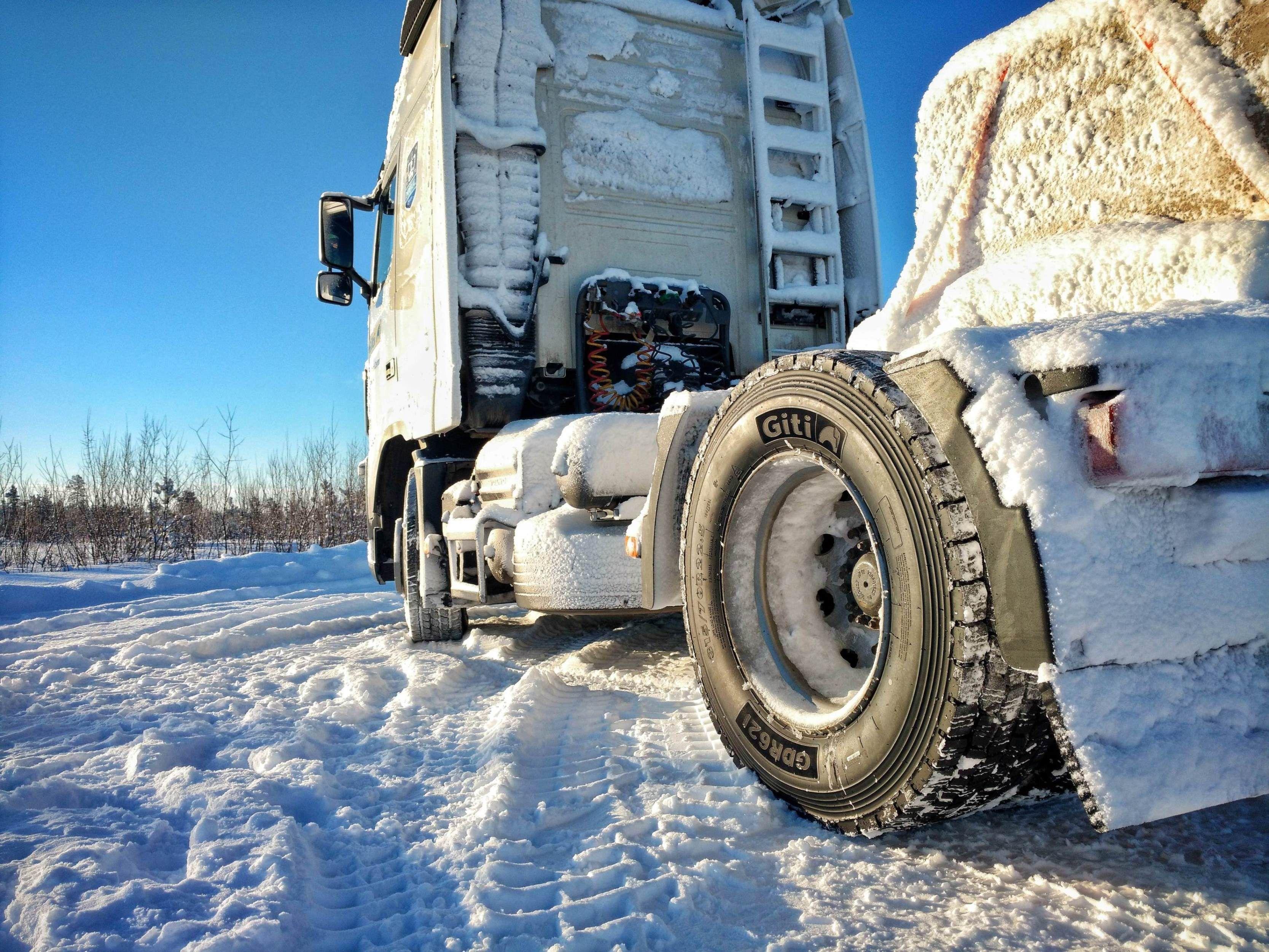 Foto de El neumático Giti GDR621 lleva la marca 3PMSF para indicar