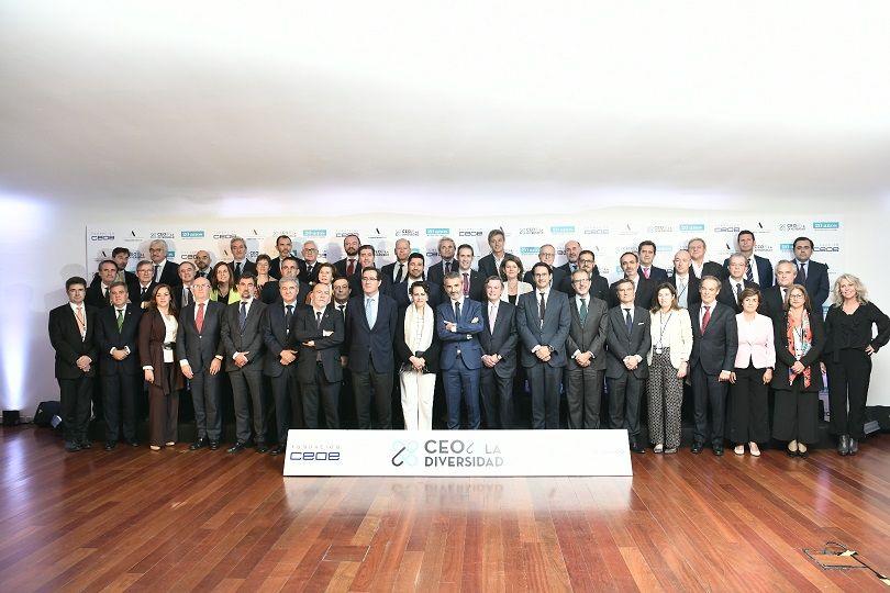 Foto de Alianza #CEOPorLaDiversidad