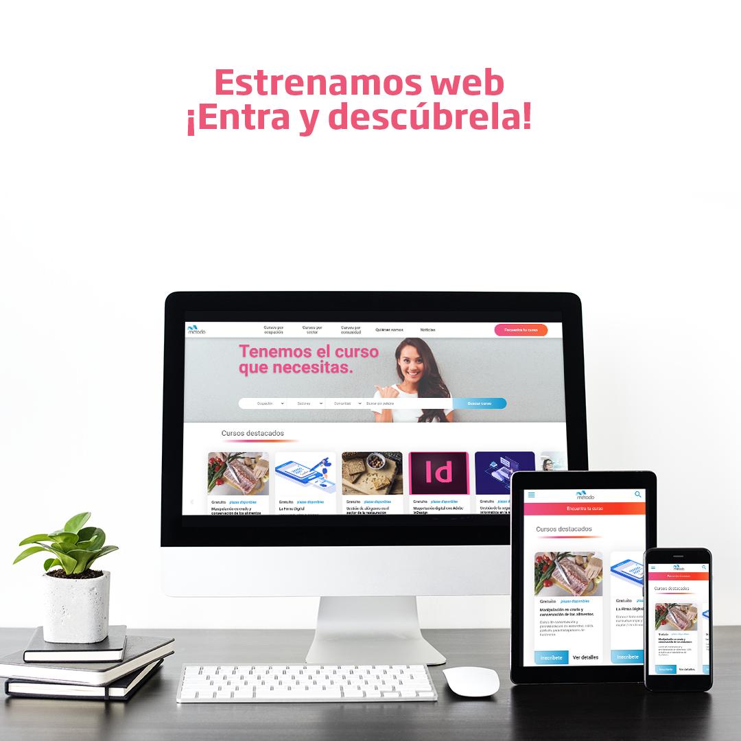 Grupo Metodo Celebra su 20 Aniversario con el lanzamiento de su nueva Web
