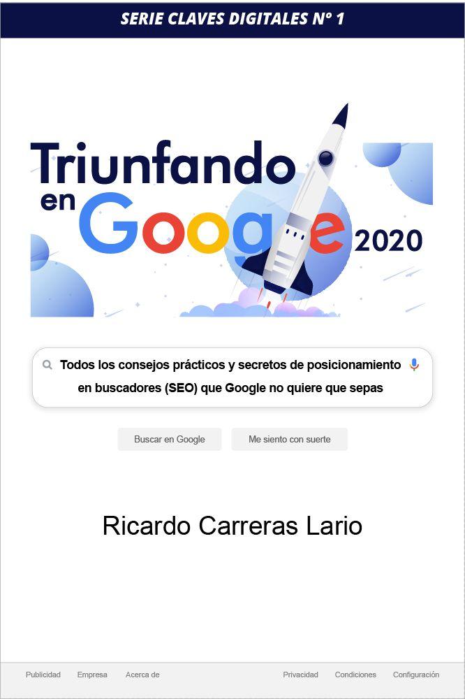 Foto de Libro sobre posicionamiento en Google: Triunfando en Google