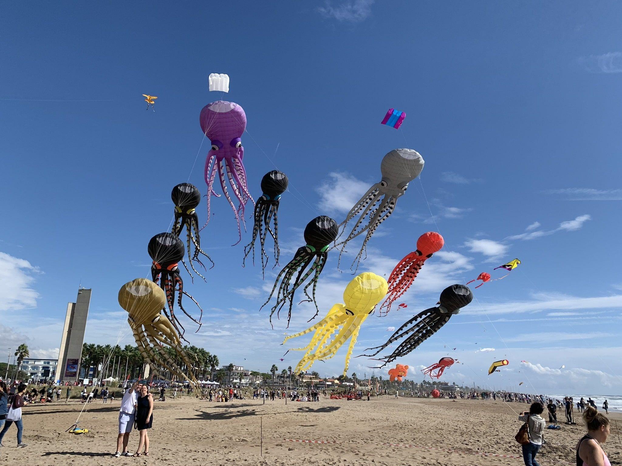 Foto de Cometas por la Paz en Castelldefels