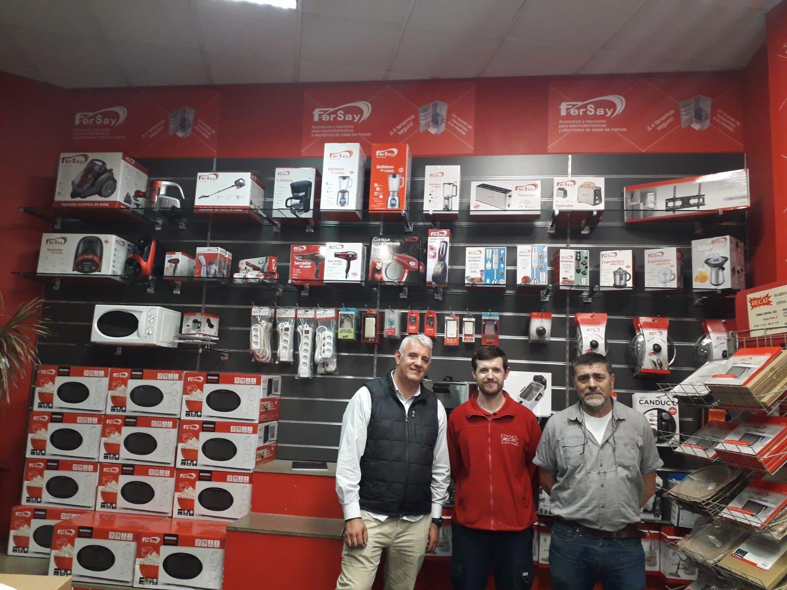 Fersay inaugura un nuevo corner en Pontevedra