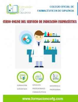 Imagen curso Indicación Farmacéutica organizado por el COFG.