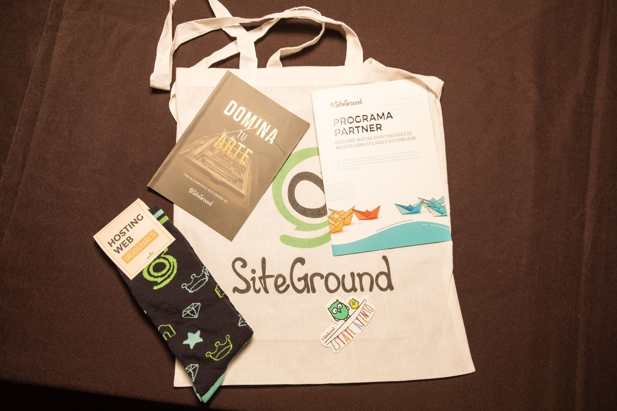 Fotografia Welcome Pack Siteground
