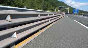 Itsak suministra barreras de seguridad vial metálicas para las obras del túnel de San Lorenzo