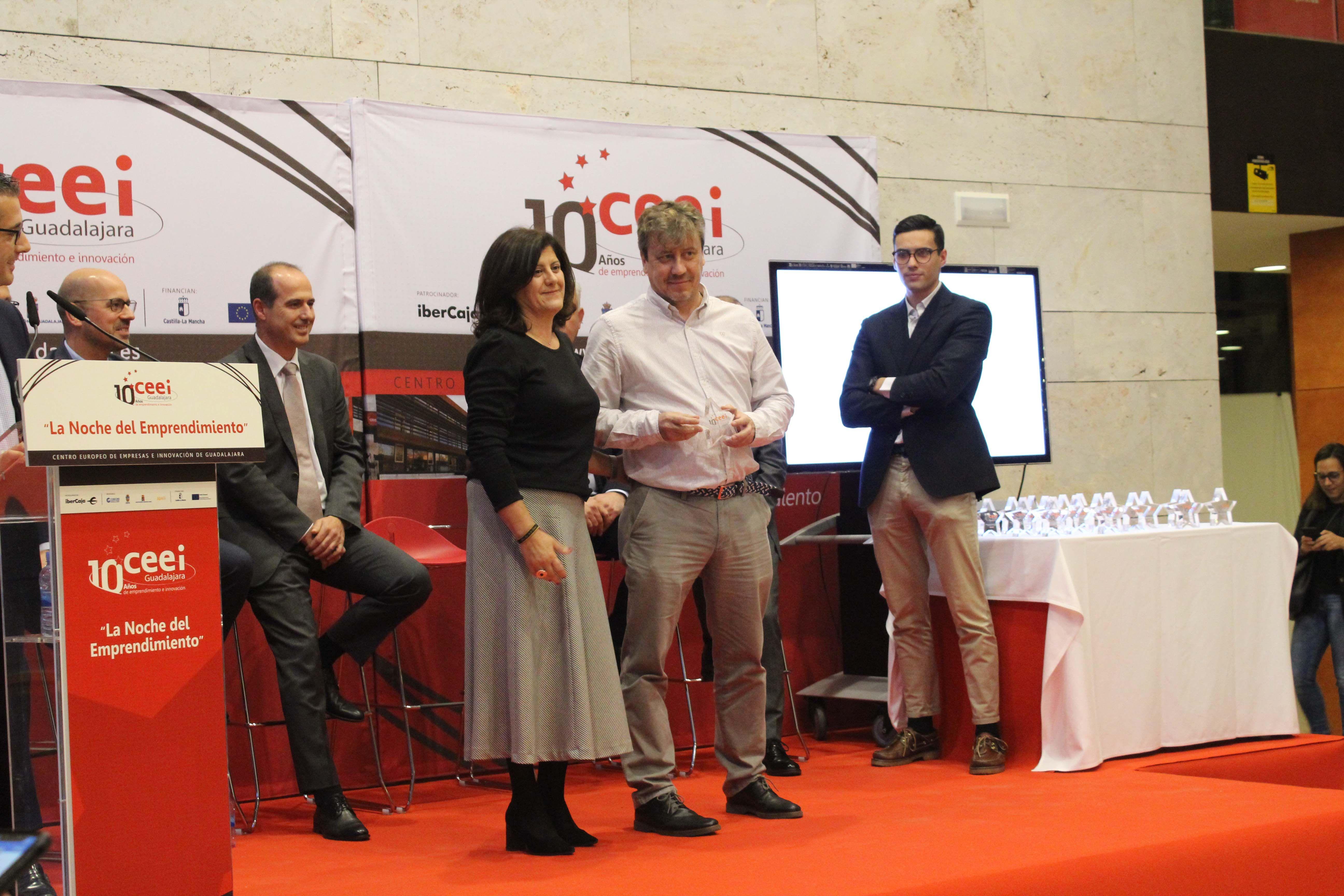 DosPZ recibe un reconocimiento por parte del CEEI de Guadalajara, en
