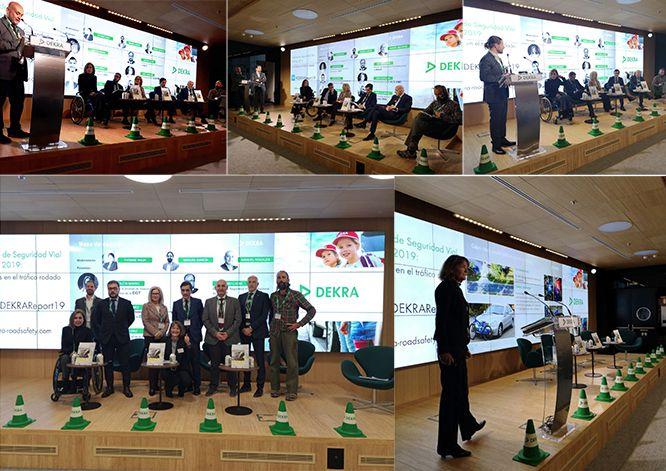 Fotografia Evento Presentación Informe Sobre la Seguridad Vial DEKRA