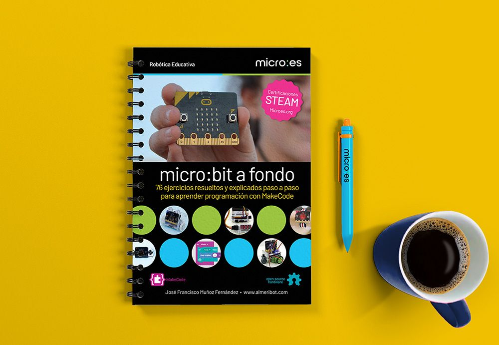 micro:bit a fondo, nuevo libro editado por Microes.org