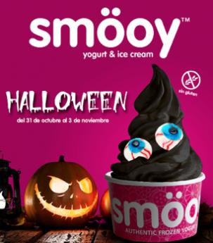 smöoy sorprende con una tarrina edición especial para el Día de Halloween de helado negro