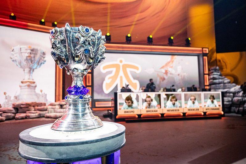 Foto de Cuartos de final de Worlds de LoL en Madrid
