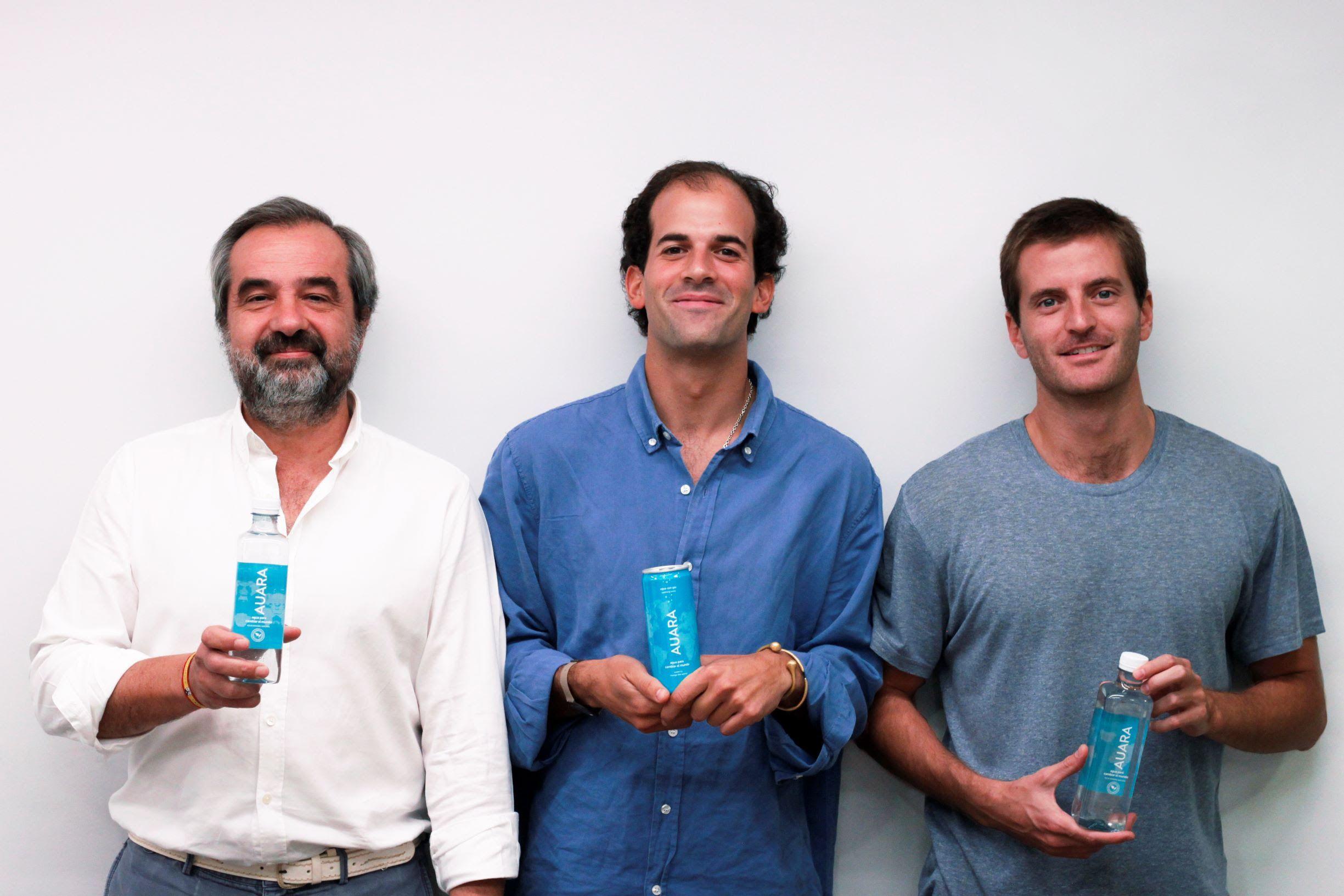 Foto de Luis de Sande, Pablo Urbano y Antonio Espinosa de los